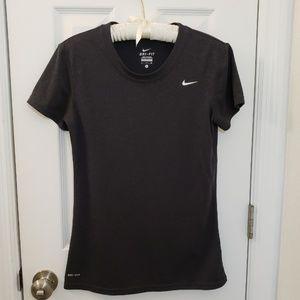 Nike black T Shirt workout